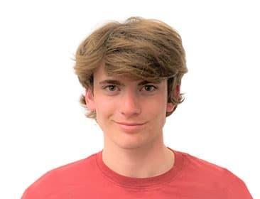 A portrait of Dylan Bibic