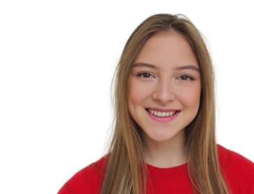 A portrait of Natalie D'Alessandro