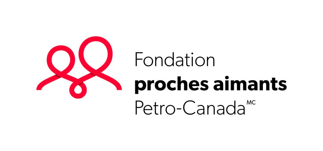 Fondation proches aimants Petro Canada logo.