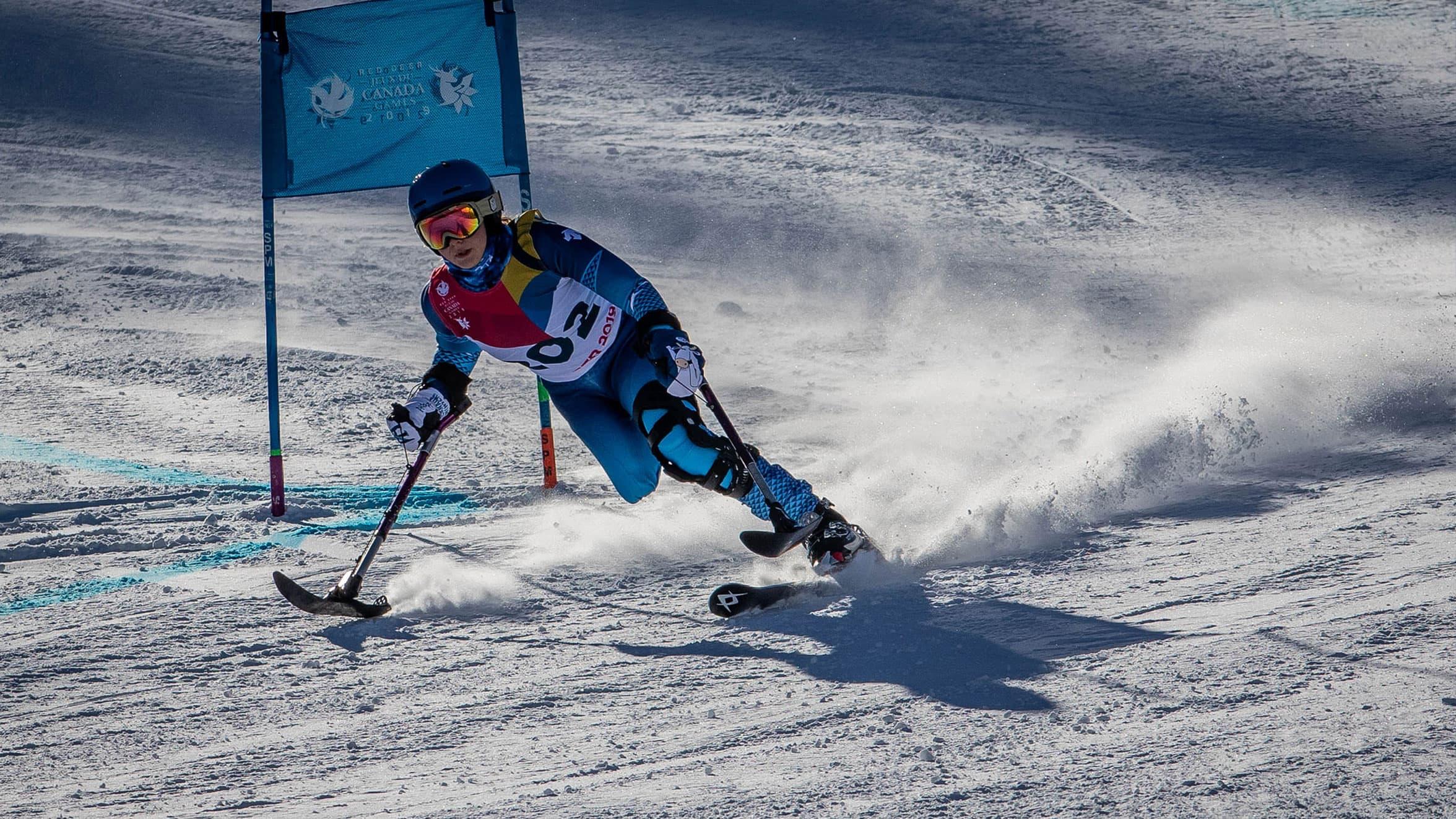 ParaAlpine skier Tess Beasant