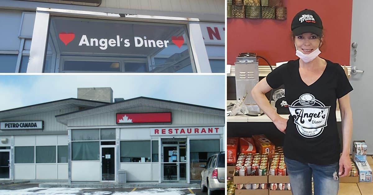 Une photo de Crystal Blair et de son restaurant
