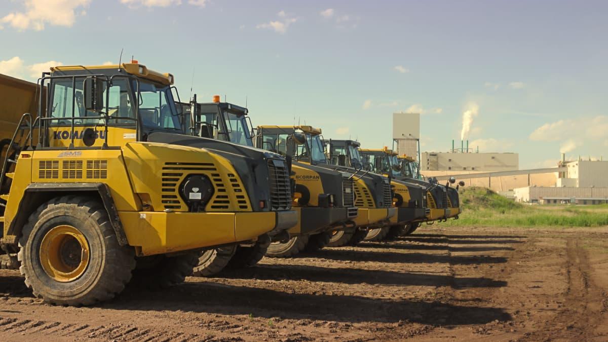 Camions de construction