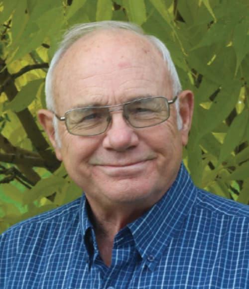 A portrait of Bert Campbell