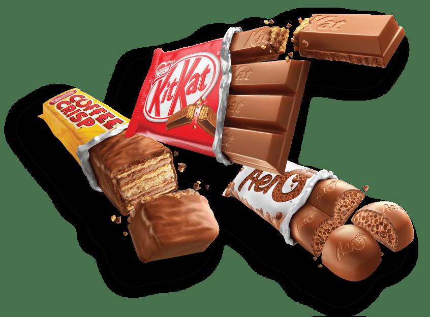 Nestle Chocolates.