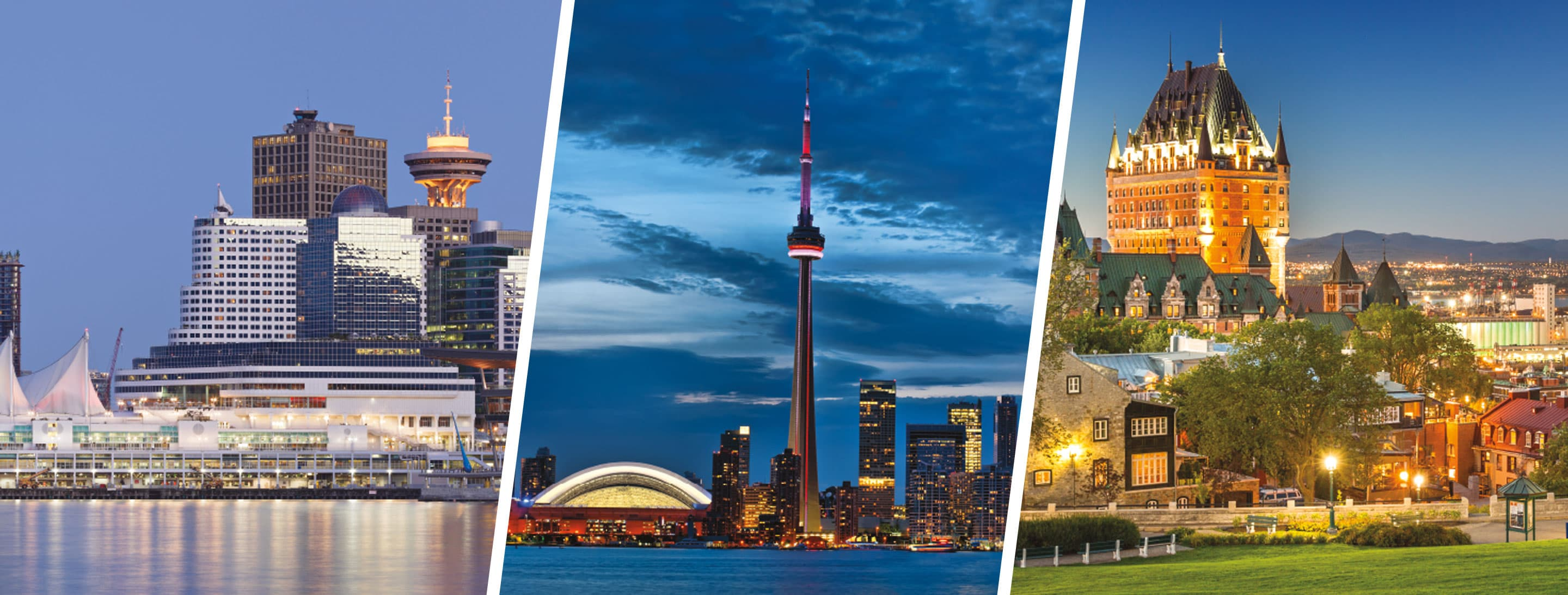 Win a trip to Vancouver, Toronto or Quebec City
