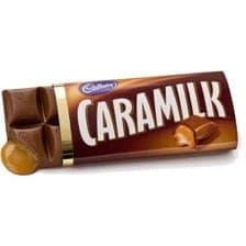 Tablette de chocolat Caramilk