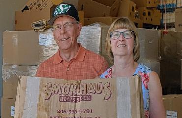 Millsap Fuel Distributors comprend que plus de gens dépendent des banques alimentaires locales.