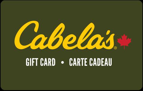 Carte-cadeau Cabelas Canada