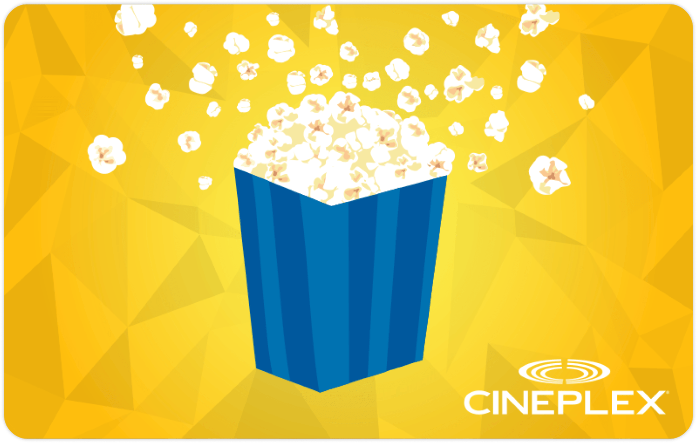 Cineplex gift card