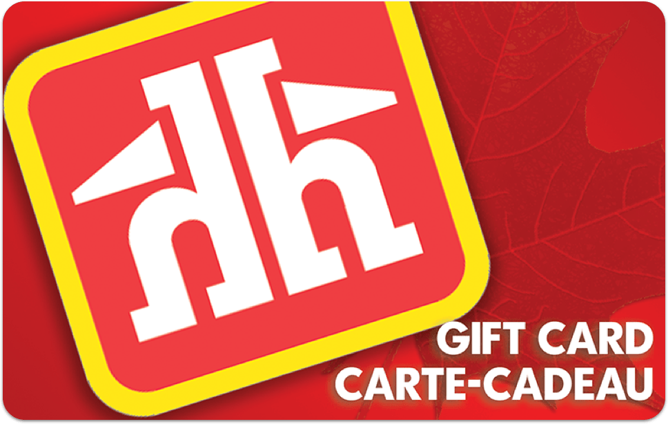 Carte-cadeau Home Hardware