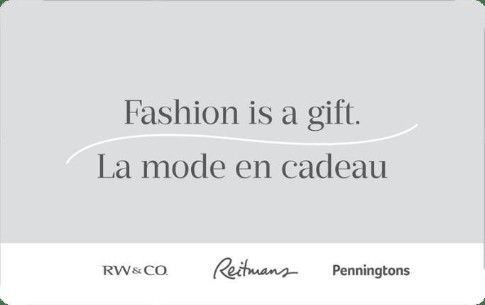 Reitmans gift card