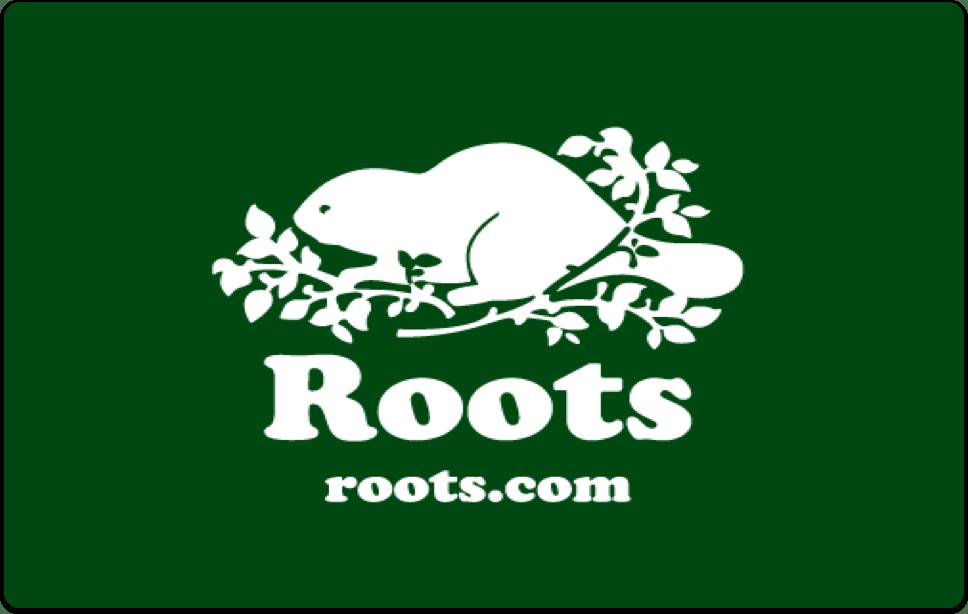 Carte-cadeau Roots Canada