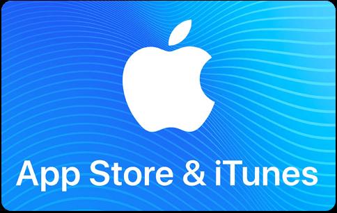 Carte-cadeau App Store et iTunes d'Apple