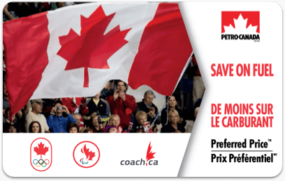 Olympic Friends and Family Program Preferred Price Card