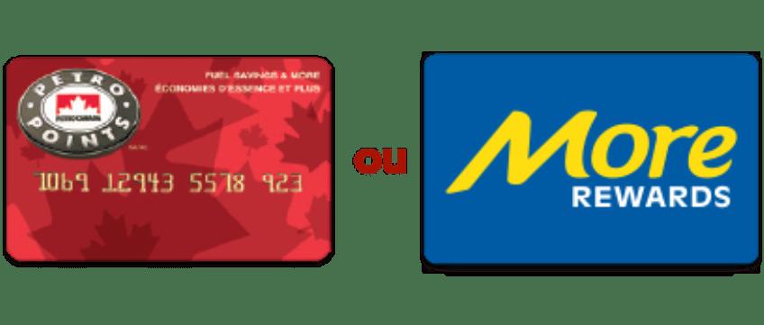Carte PPTS et More Rewards