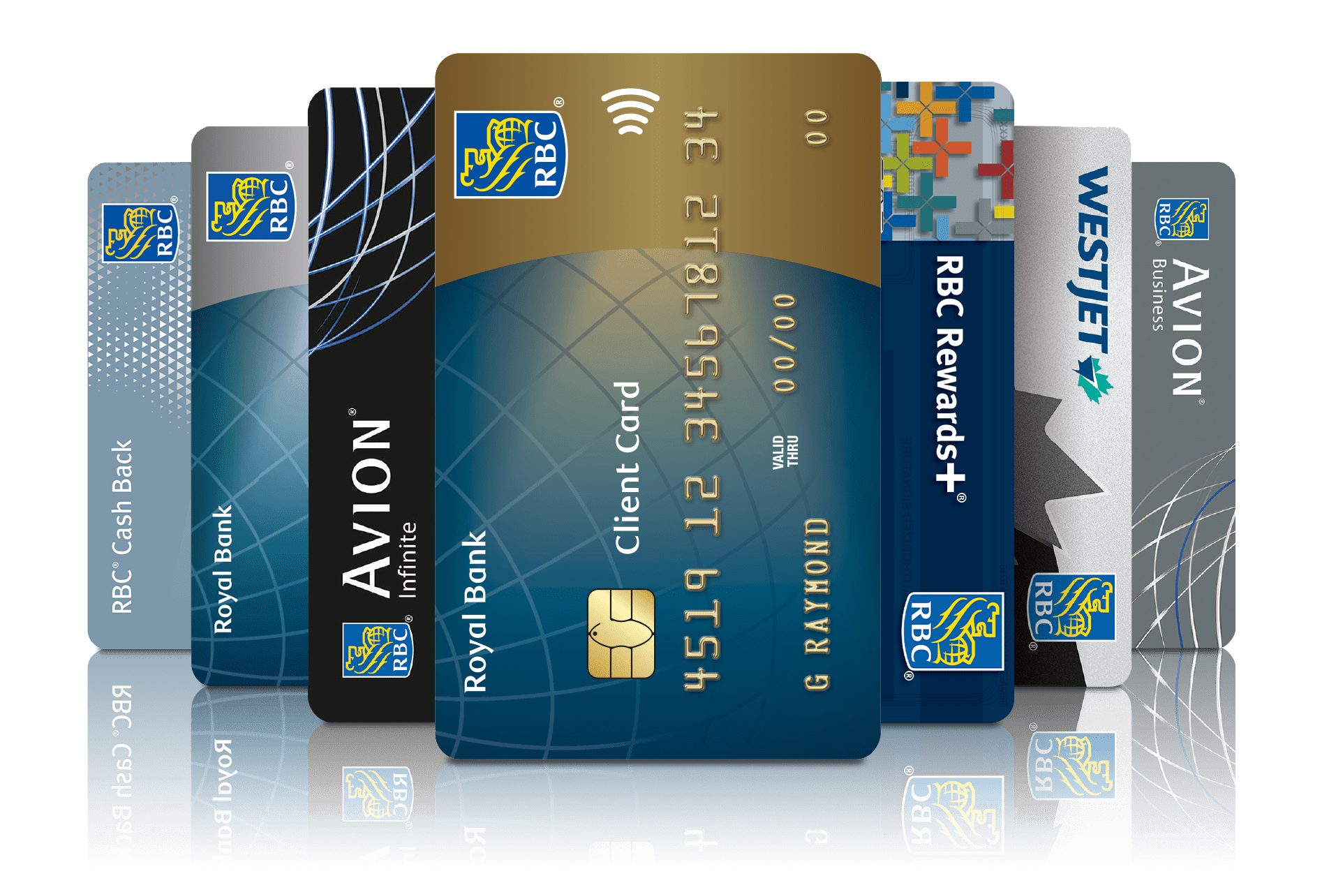RBC debit and credit cards
