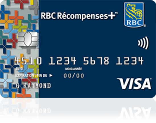 carte RBC Visa Récompenses+