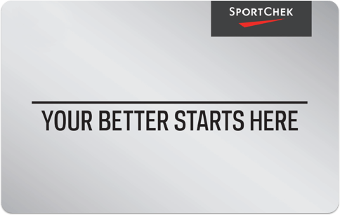 Carte-cadeau SportChek