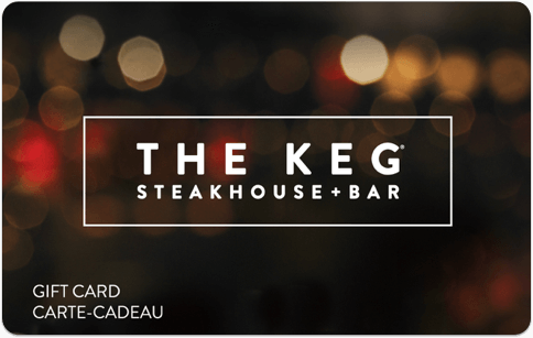 The Keg gift card