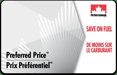 Preferred Price card